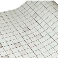 wallpaper aluminium dinding atau meja warna silver anti air dan panas