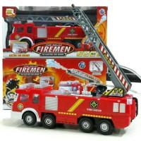 MAINAN MOBIL PEMADAM KEBAKARAN FIRE SQUAD FIREMEN SY732 BATERAI
