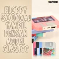 Remax powerbank floppy 5000 mAh real capacity