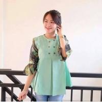 Atasan wanita murah/ baju murah /Blouse combi batik