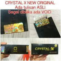 Crystal X New Original - Perapat Miss.V Original