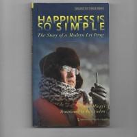Buku Bekas Import - Happiness Is So Simple - Guo Mingyi - Kondisi Bagu
