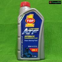 Lifetime ATF Power Steering Fluid / Oli Transmisi 1 L TOP1 TOP 1 TOP-1