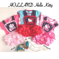 Holland hello kitty tutu romper