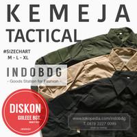KEMEJA TACTICAL BLACK BLACKHAWK 511 ARMY - INDOBDG