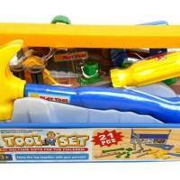 Mainan Alat Tukang-Tukangan Murah Tool Set 21 Pcs