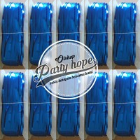 tirai foil biru / backdrop biru / foil fringe curtain/ background