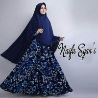 Baju Gamis Muslimah Gamis Naifa Syar'i Naifa Sar'i