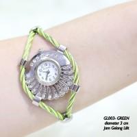 Jam tangan wanita guess tribal gelang kawat lilit grosi Diskon
