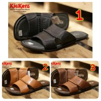 SANDAL PRIA CASUAL TRENDY KICKERS ROUGHNECK CONCEPT GENUINE LEATHER