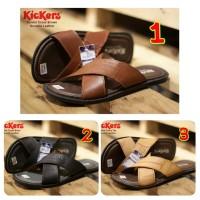 SEPATU PRIA CASUAL TRENDY KICKERS CROSS CONCEPT GENUINE LEATHER