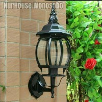 LAMPU DINDING KLASIK ANTIK OUTDOOR TAMAN5003