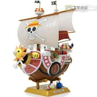 Thousand Sunny Go 25cm Kapal One Piece Action Figure Bandai Grand Ship