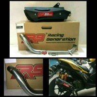 knalpot racing full system R9 misano motor YAMAHA AEROX 155