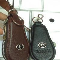 Dompet stnk gantungan kunci motor dan mobil logo toyota
