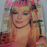 Majalah best seller cewek gogirl! edisi emma stone
