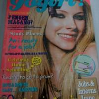 Majalah best seller cewek gogirl! edisi avril lavigne 28/mei 2007
