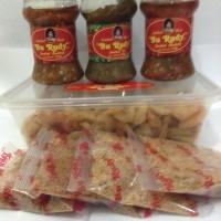 Paket Udang Bu Rudy Set Besar Sambal Bawang dan Hijau Peda Surabaya