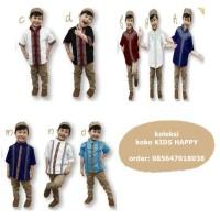Koko Anak Lebaran - Kids Happy 34  Size Besar 6th Sd 10th