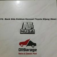 Emblem Karoseri Toyota Kijang Super