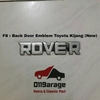 Emblem Toyota Rover