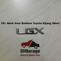 Emblem Belakang Toyota Kijang Kapsul