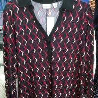 Promo Sale Blouse Wanita Branded- 4829- Kim Rogers abstract- Merah