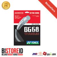 Senar Raket Badminton / Bulutangkis Yonex BG68 Ti Original 100%