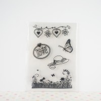Clear / Silicone / Rubber Stamp Scrapbook