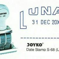 STEMPEL LUNAS TANGGAL JOYKO S 68 GROSIR TERMURAH