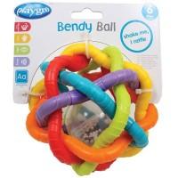 Playgro Bendy Ball / Mainan Bola Bayi Rattle Usia 6m+