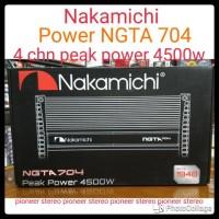 Power Nakamichi NGTA-704 , 4 CHN