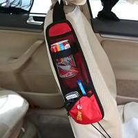CA025 Kantong Tas Tempat Barang Samping Jok Mobil Car Seat Side Pocket