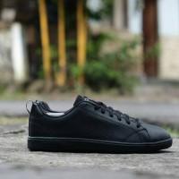 Sepatu ADIDAS NEO ADVANTAGE FULL BLACK ORIGINAL