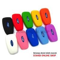 Kondom Kunci Silikon Remote Cover Kunci Lipat Keyshirt Ford Ranger