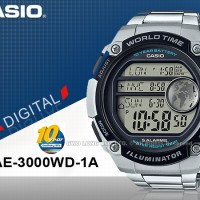 Jam Tangan Pria / Cowok Casio AE-3000WD AE 3000WD Original