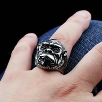 skull ring / cincin tengkorak import model apes monyet