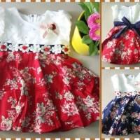Dress Katun Bunga Mutiara