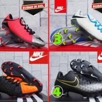sepatu bola/olahraga/murah/ Nike Hypervenom Phinish II Hijau Orange