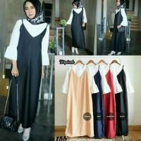 Baju Wanita Overall longdress 155