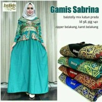 Batik Dress Gamis Sabrina