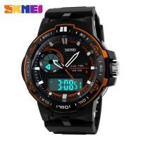 Jam Tangan Pria / SKMEI Casio Men / Digital LED + Analog / 1070
