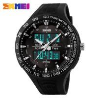 Jam Tangan Pria / SKMEI Casio Men / Digital LED + Analog / 1066