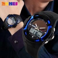 Jam Tangan Pria / SKMEI Casio Men / Digital LED + Analog / AD 1056