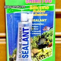 Lem Kaca Silicone Sealant Aquarium 70gr