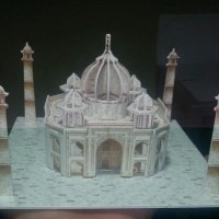 Miniatur Istana Taj Mahal
