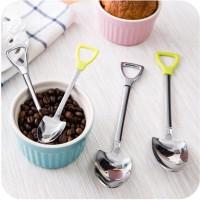 KT-010 Sendok Stainless Skop For Kopi Teh Ice Cream Soup (S)