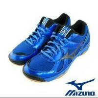 SEPATU VOLLY MIZUNO V1GA157094WAVE TWISTER 4 - STRONG BLUE / BLACK