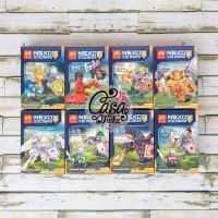 Set LEGO LELE Brick - Nexo Knights / Knight Minifigure 79305