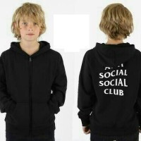 Jaket Anak ANTI SOSIAL CLUB -Favorit fashion